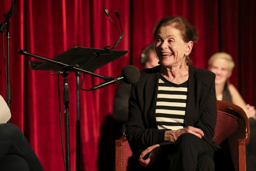 Jessica Walter reflects on her early days on TV on Ask Me Another at the Bell House in Brooklyn, New York.