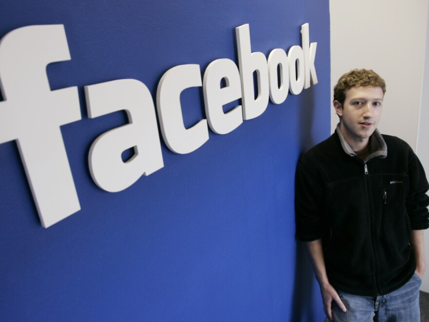 Facebook co-founder and CEO Mark Zuckerberg at Facebook headquarters in Palo Alto, Calif., in 2007. The company is expected to file papers for an initial public offering this week.