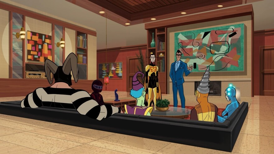 Legion of Dumb: The Monarch addresses the various villains in <em>The Venture Bros</em>.