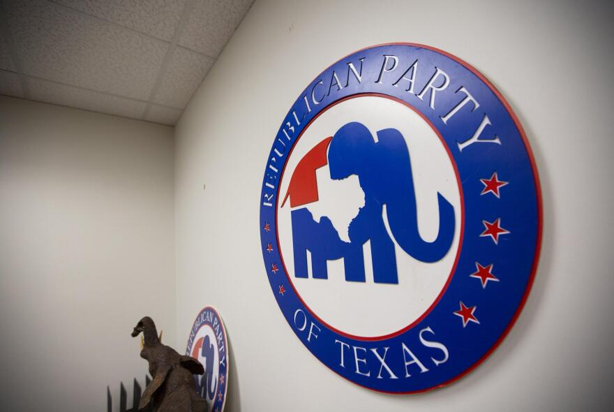 The Republican Party of Texas office in downtown Austin.