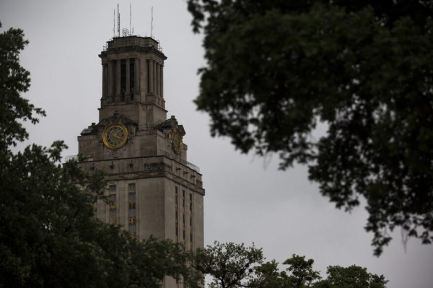 The UT Tower in Austin.