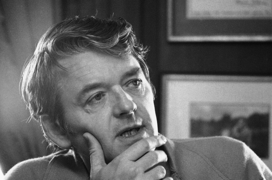 """I've always wanted to just be an actor ... that's all I've ever wanted to be, playing different roles,"" Hal Holbrook told NPR in 2008. He is shown above in his New York apartment in February 1973."