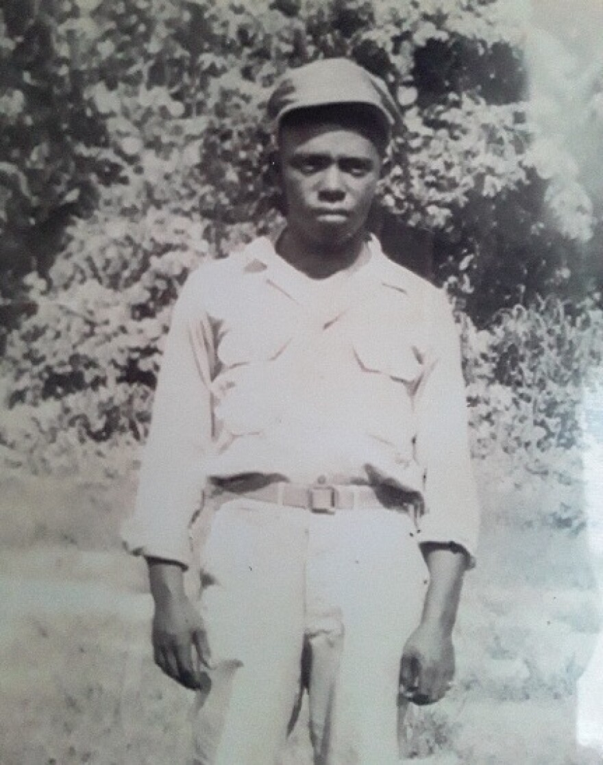 Clinton Melton, a gas station attendant who was shot and killed on December 3, 1955 in Glendora, Mississippi.