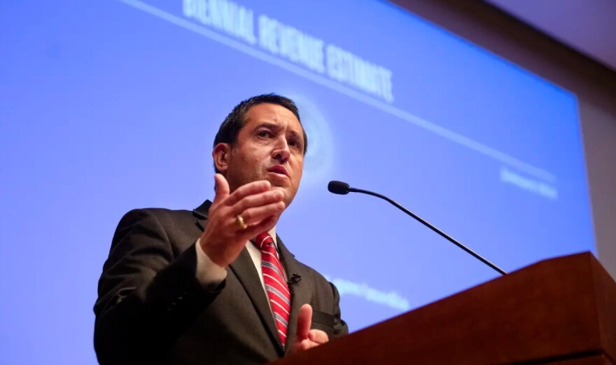On Monday, Comptroller Glenn Hegar announced the economic blow from the coronavirus pandemic had created a large shortfall in the budget.