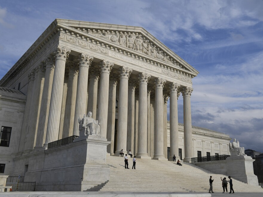 The U.S. Supreme Court building in Washington, D.C. Thursday the Trump administration reaffirmed its position that the entire Affordable Care Act is unconstitutional.