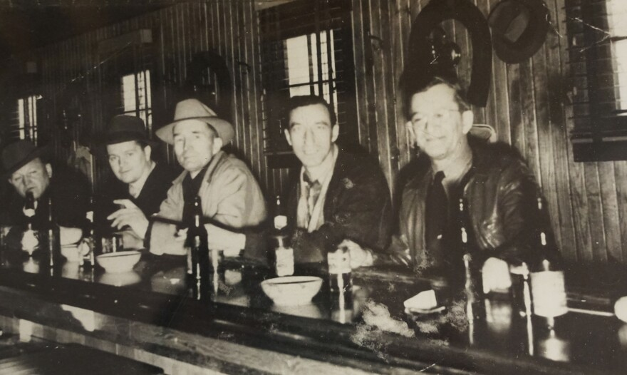 The Lone Wolf Club, shown here, was a speakeasy during Prohibition. The club, which stood at the edge of what is now Castlewood State Park, later became a private tavern.
