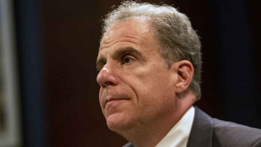 Justice Dept. Inspector General Michael E. Horowitz testifies before the House Oversight Committee and the House Judiciary Committee on Tuesday in Washington, D.C.