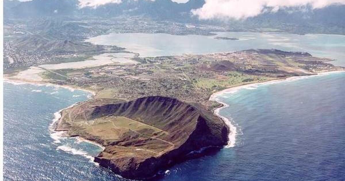 Marine Corps Base Hawaiʻi sewage leaks into ocean