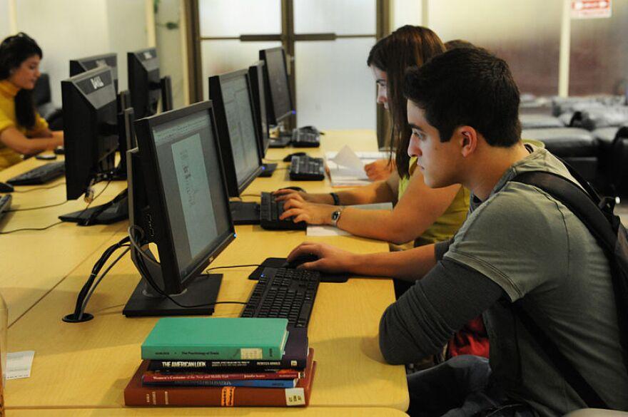 Students at Computers