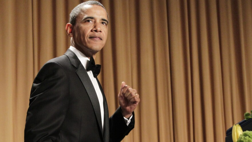 President Obama roasted Donald Trump at the White House Correspondents Association Dinner in 2011.