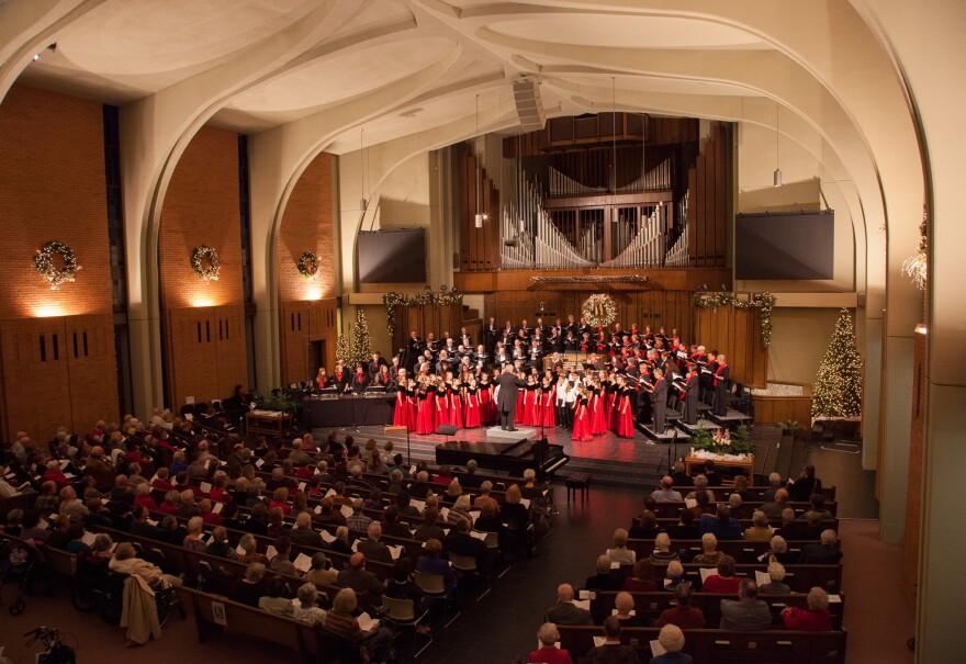 Bach Society of Dayton's holiday show
