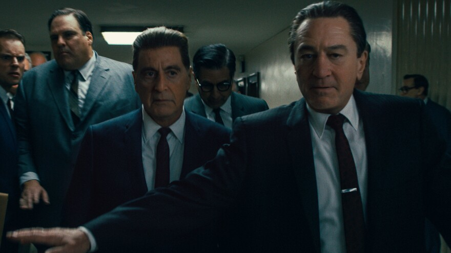 Robert De Niro and Al Pacino share the screen in Martin Scorsese's <em>The Irishman</em>.
