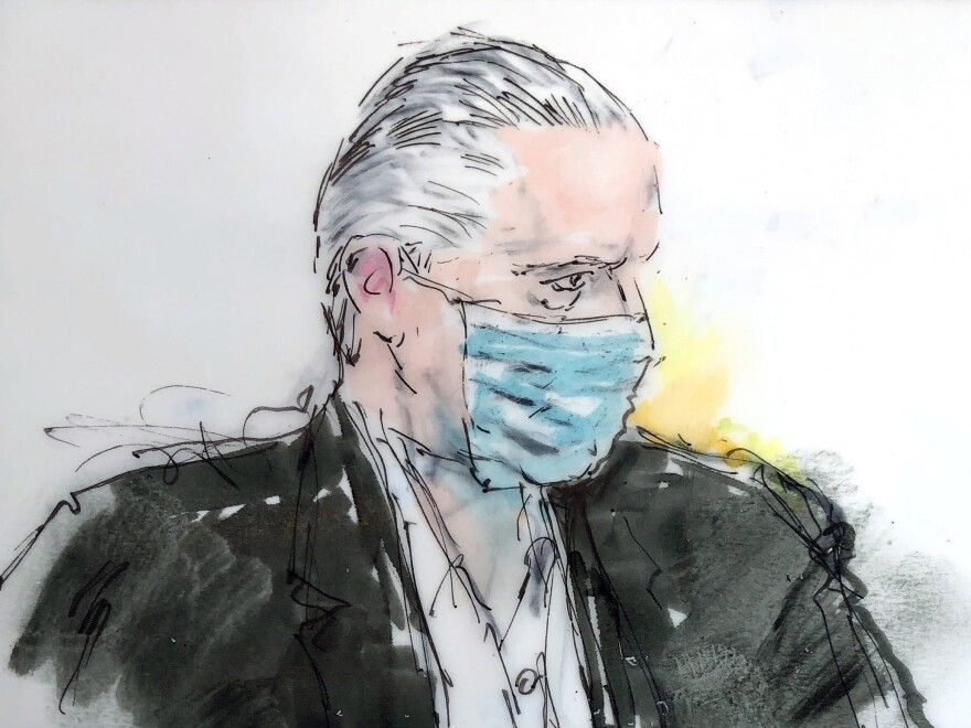 Mexican defense secretary Gen. Salvador Cienfuegos Zepeda, pictured in a court sketch, had been accused of  helping the H-2 Cartel, an extremely violent Mexican drug trafficking organization, traffic thousands of kilograms of cocaine, heroin, methamphetamine and marijuana into the U.S.
