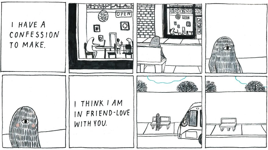 Yumi Sakugawa's book <em>I Think I Am In Friend Love With You </em>helps define the joys of modern friendships.