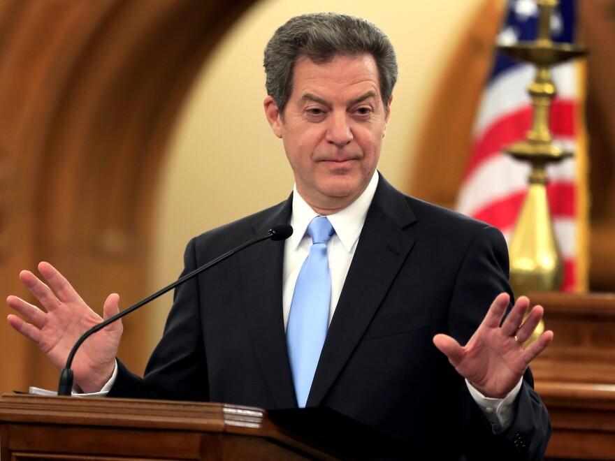 Kansas Gov. Sam Brownback opposes legislative efforts to expand the state's Medicaid program.