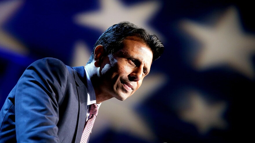 Louisiana Gov. Bobby Jindal announced his presidential candidacy in June and suspended it this week.