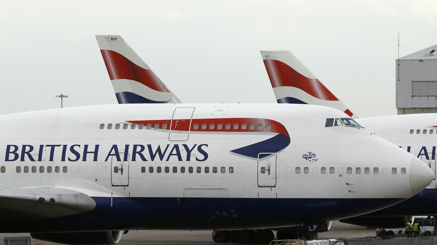 Passengers described scenes of chaos at London's major airports after a problem with British Airways' check-in system led to customers being checked in manually.