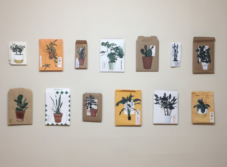 A collection of art pieces included in Fidencio Fifield-Perez's Dacament series. He said the Craft Alliance exhibit will include a Dacament piece. August 29,2019