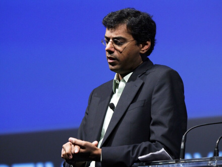 Dr. Atul Gawande at the 2010 <em>The New Yorker</em> Festival in New York.