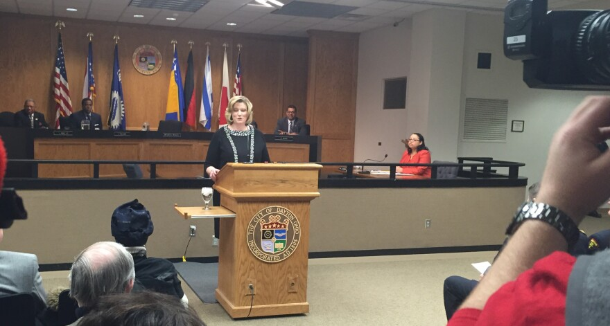 Dayton Mayor Nan Whaley delivers the 2016 State of the City address at City Hall