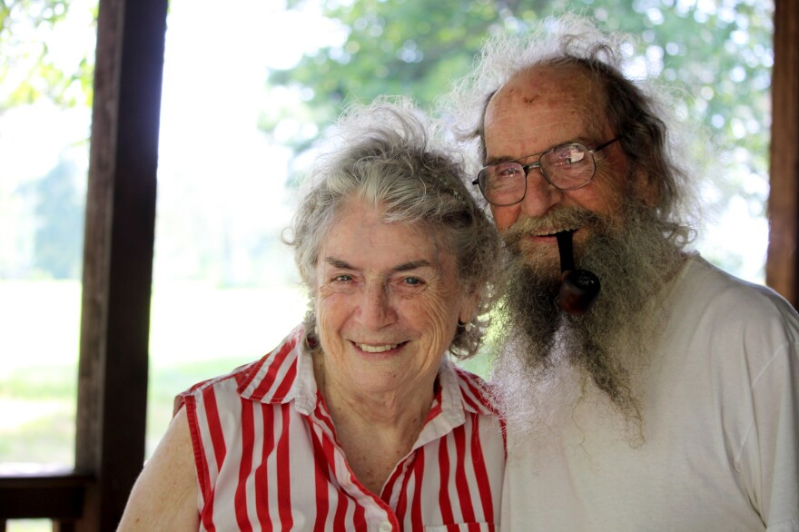 Lulabelle Berry (right) and her husband Jimmy at their home in Mountain View, Ark. Jimmy found Lulabelle having a stroke and got her to the emergency department where she received the clot-busting drug Activase.