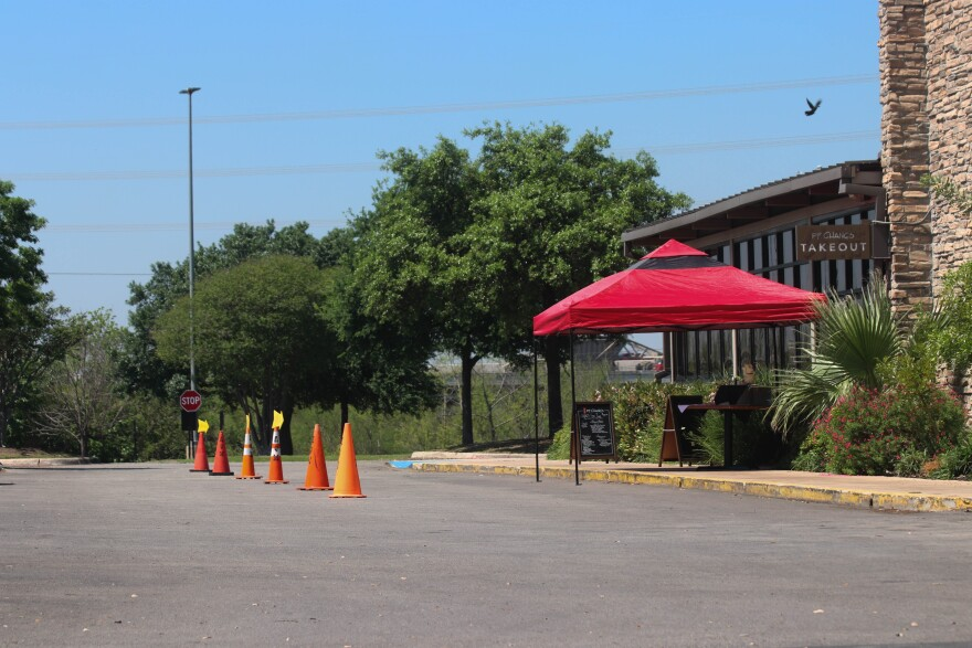 Many restaurants are maintaining their businesses by offering take out and curbside service, like P.F. Chang's in the Quarry.
