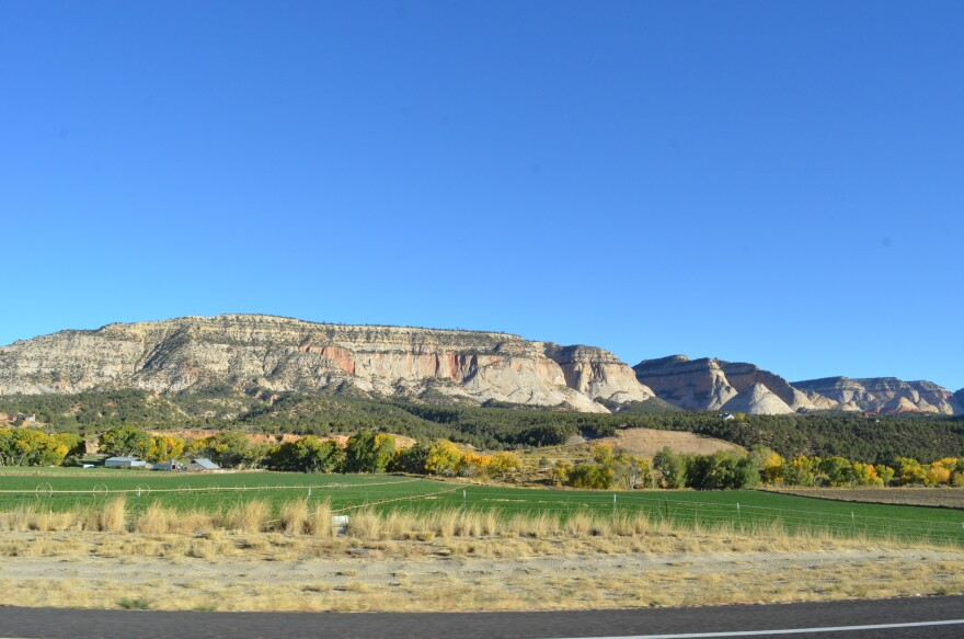 A photo of a location off Highway 89 in Southern Utah.