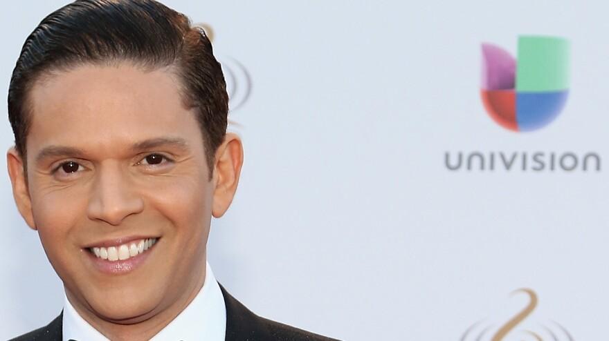 Former Univision host Rodner Figueroa