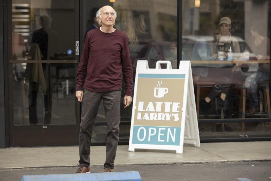 Larry David in <em>Curb Your Enthusiasm </em>on HBO