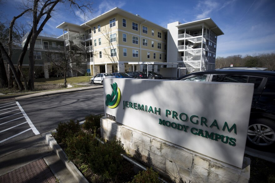The Jeremiah Program Moody Campus is a 35-unit affordable housing development in East Austin that houses single mothers.
