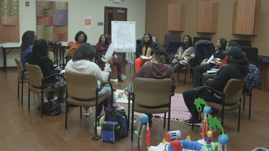 A photo of the Centering Pregnancy Group