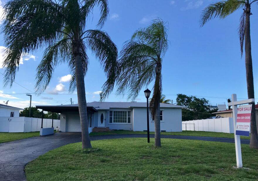 The median price to buy a home in Broward County, like this one in Hollywood, is about $350,000 according to the new report from the FIU Metropolitan Center.