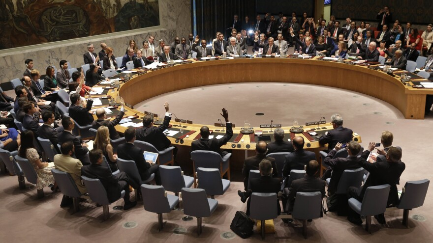 The U.N. Security Council endorsed the historic Iran nuclear deal on Monday. Now, world leaders — notably in the U.S. and Iran — must garner enough support for the agreement at home.