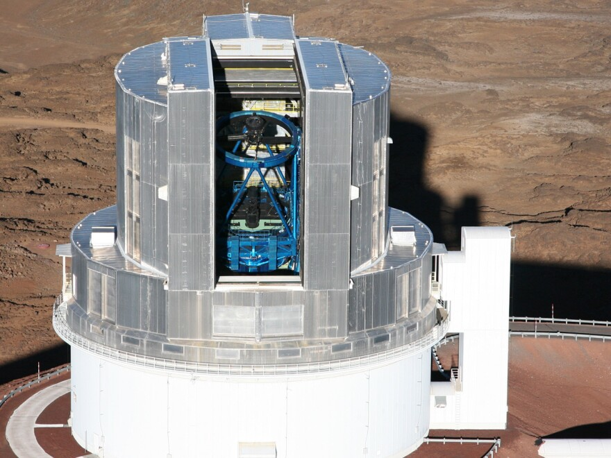 The Japanese Subaru Telescope on Mauna Kea in Hawaii has the right attributes for searching for Planet Nine.