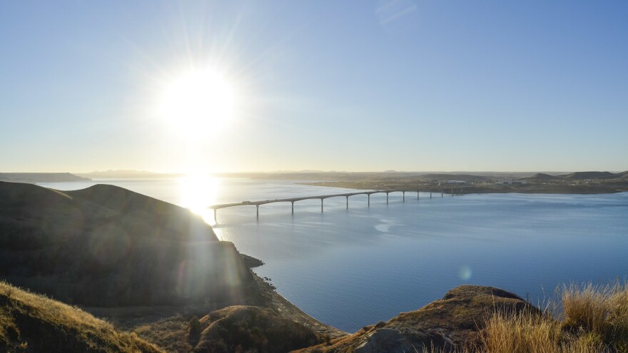 Fort Berthold reservation gets its drinking water from Lake Sakakawea, a reservoir on the Missouri River. The Army Corps of Engineers has authorized the construction of two pipelines beneath the reservoir, a plan MHA Nation is fighting.