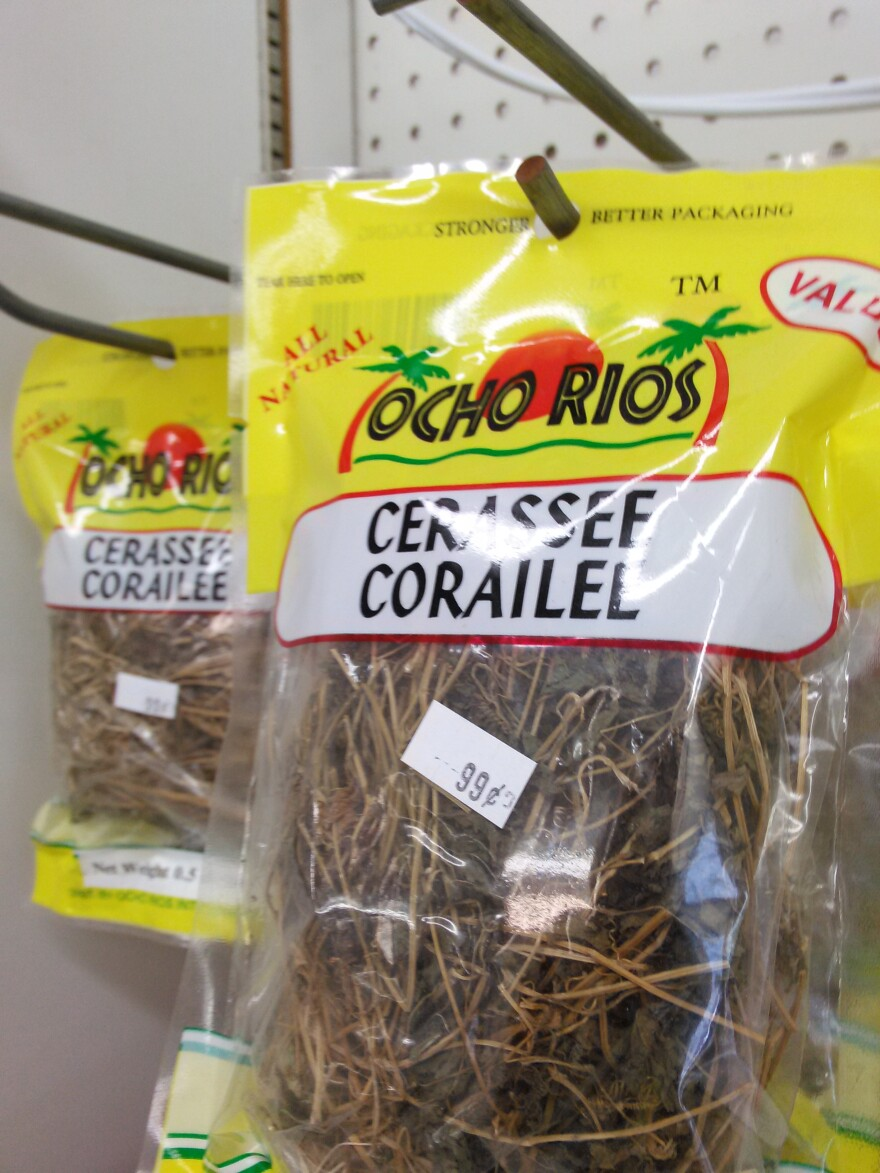 Dried cerassee for sale at Grace Seafood in Miami Gardens.
