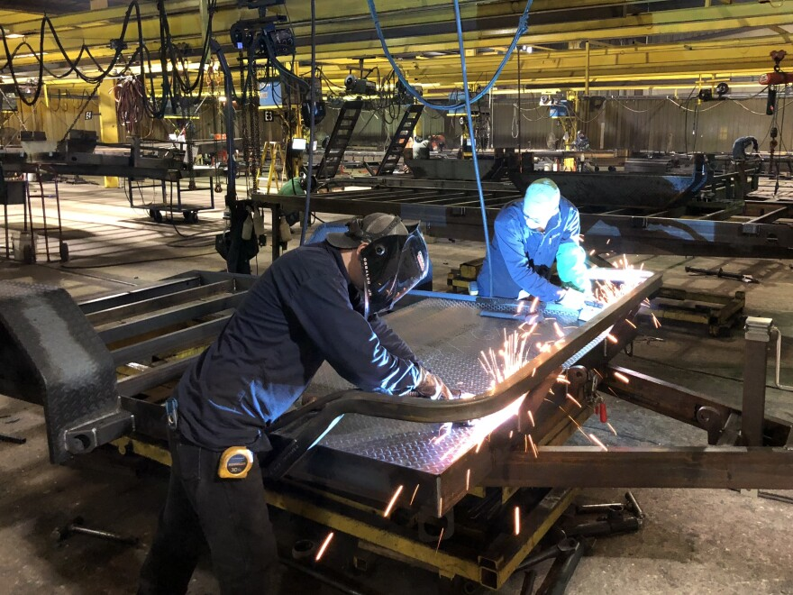 Load Trail has had a hard time hiring welders to fabricate its trailers since Immigration and Customs Enforcement agents arrested about a quarter of its workforce in August.
