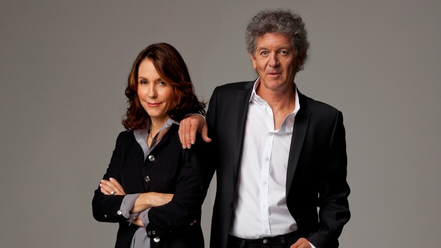 <em></em>The new album <em>Kin</em> is a collaboration between author Mary Karr and singer-songwriter Rodney Crowell.