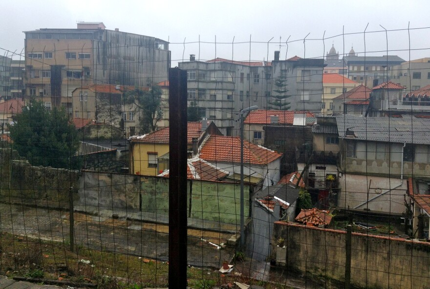 A poor neighborhood of Porto, Portugal's second-largest city. Unemployed architects are giving tours of the city's poorer areas to show visitors the long-term effects of austerity on their country.