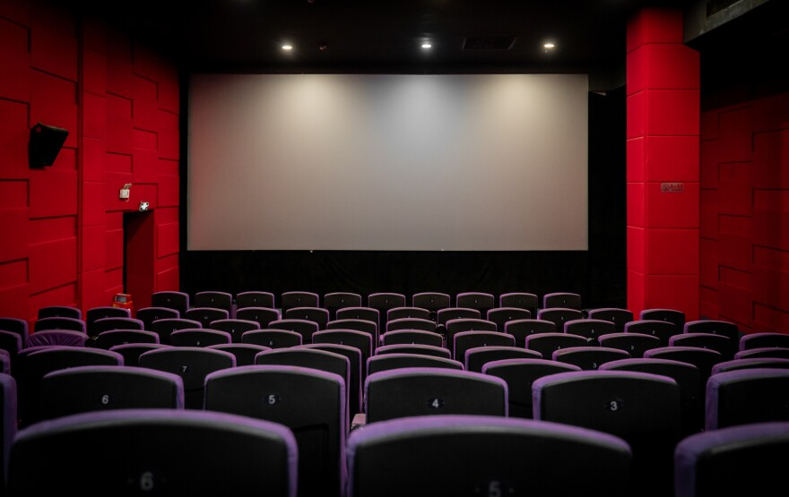 An empty movie theater. (Getty Images)