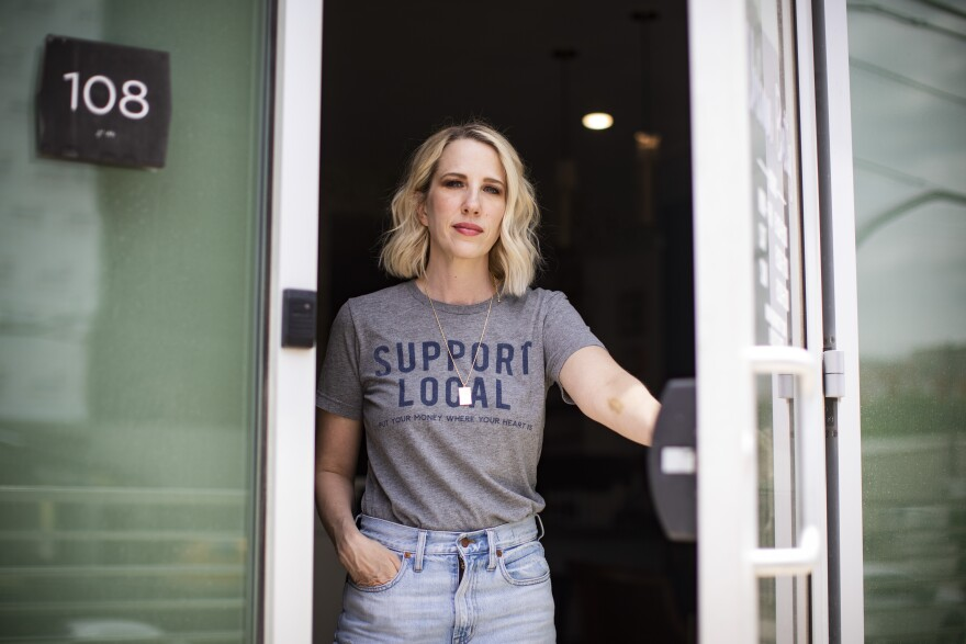 """Urban Betty owner Chelle Neff plans to close both salon locations on Election Day to give her staff time to vote. """"It's more important now than ever,"""" she says."""