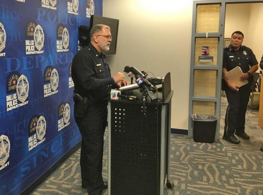 Dallas Police Maj. Max Geron says new allegations of sexual abuse prompted this morning's raid of three Catholic Diocese buildings, which began around 7:30 a.m.