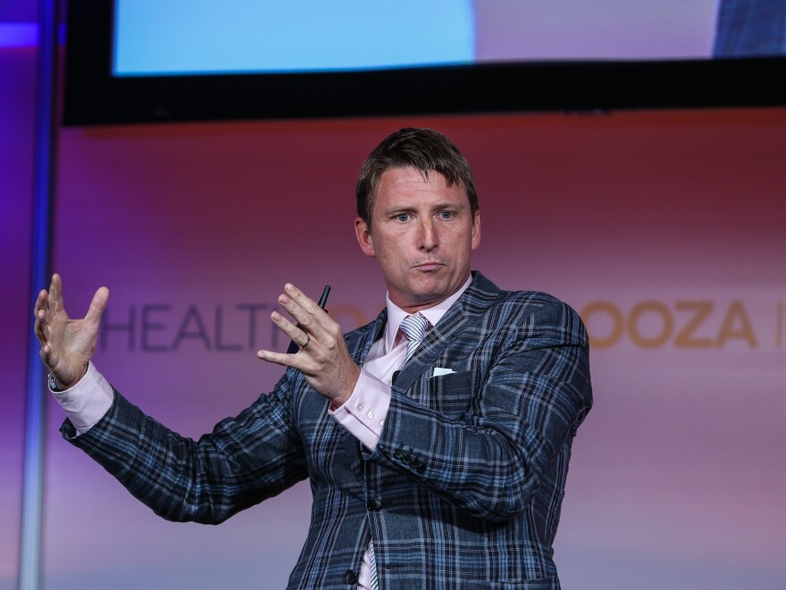 Jonathan Bush, co-founder, athenahealth, at Health Datapalooza IV, where he urged the government to release more data on health care quality and costs.
