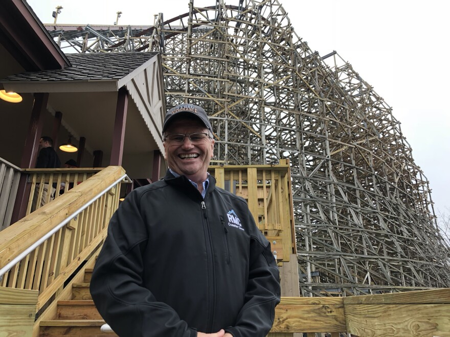 Fred Grubb's Rocky Mountain Construction specializes in building hybrid roller coasters.