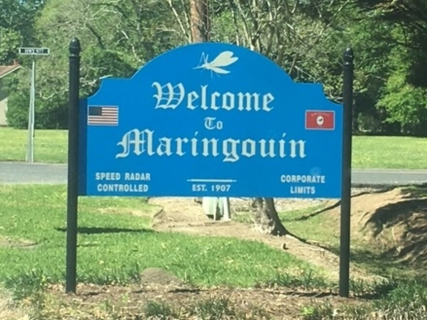 Maringouin, Louisiana is a town of about 1,100 people.