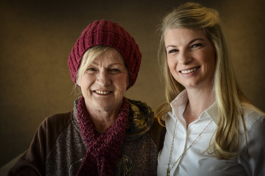 Colorado State Rep. Brittany Pettersen (right) is advocating for more treatment money for opioid addiction, in part because of the substance abuse struggles of her mother, Stacy (left).