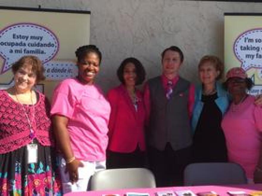 Healthcare providers and survivor Trasetta Alexander are highlighting the importance of breast cancer prevention.