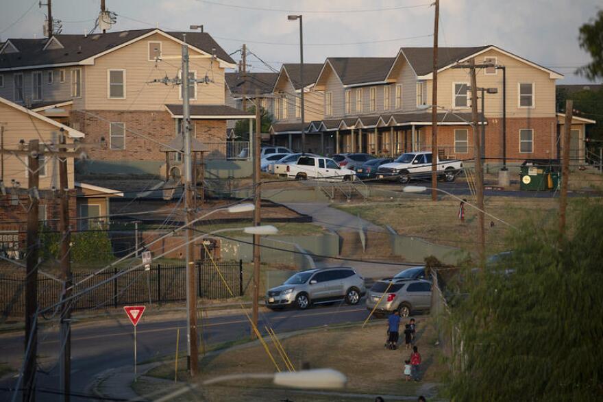 Multifamily housing in Austin.
