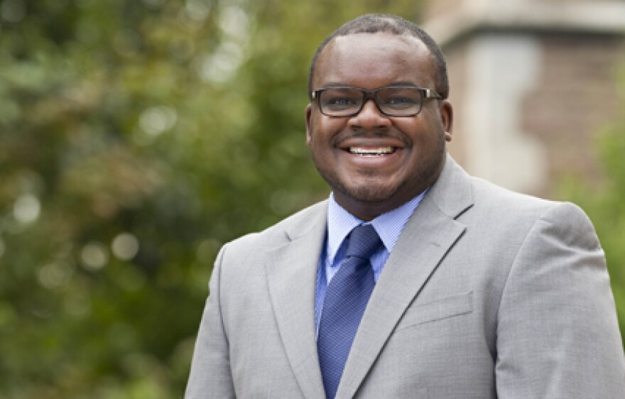 Washington University professor Darrell Hudson.