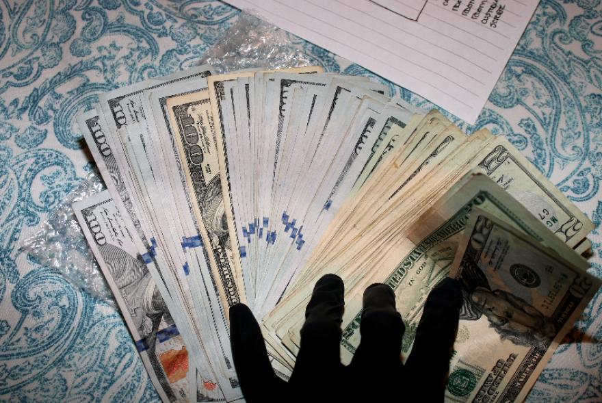 Money found